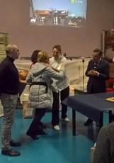 Commemorazione Presidente della Fiera Walter Del Cin e consegna pane Walter alla famiglia