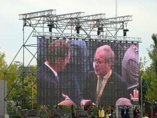 Presidente Regione Lombardia Roberto Maroni con Vice Presidente nazionale Coldiretti