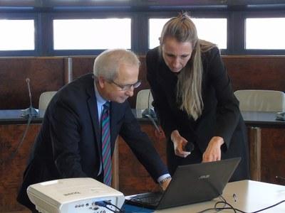 Angelo Pellegrino e Simona Lauri