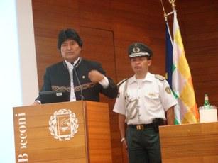 Lectio Magistralis Evo Morales Ayma Presidente Stato Plurinazionale della Bolivia