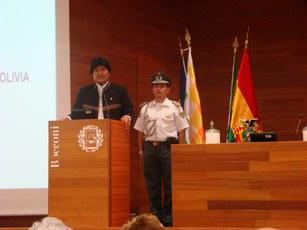 Lectio Magistralis Univ. Bocconi Presidente Stto Plurinazionale della Bolivia Evo Morales Ayma