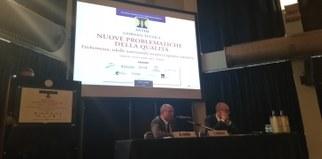 Il Dott. Figna e il Presidente Cavalli
