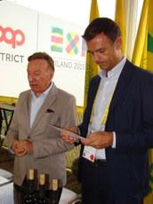 Rorato e il Vice Presidente nazionale Coldiretti