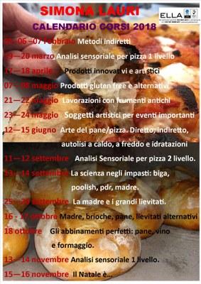 Calendario corsi Simona Lauri