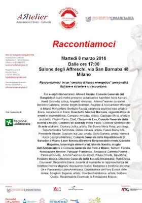 Raccontiamoci Soc. Umanitaria Milano