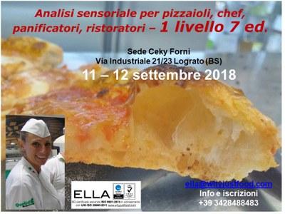 Analisi sensoriale per pizza