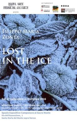 Lost in the ice Sacro Monte (VA)