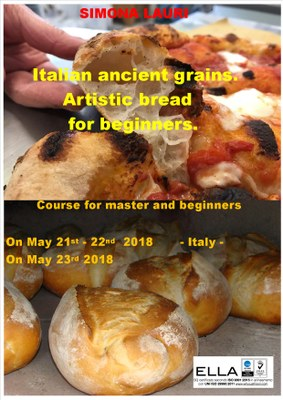 Course Typical ancient grains and artistic bread