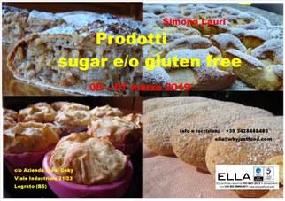 corso prodotti sugar e/o gluten free