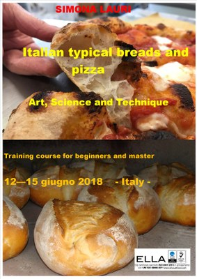 Training Master course about traditional italian breads