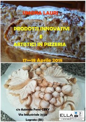 prodotti innovativi dolci e artistici con impasto pizza
