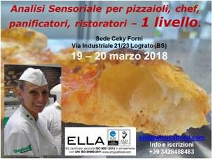 Analisi Sensoriale Pizza 1 livello
