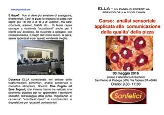 Corso analisi sensoriale pizza.