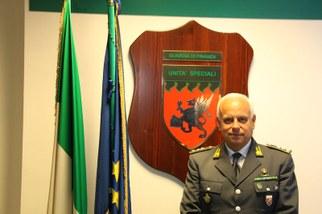 Gen.G.Vecchione Comandante Unità Speciali GdF - Roma